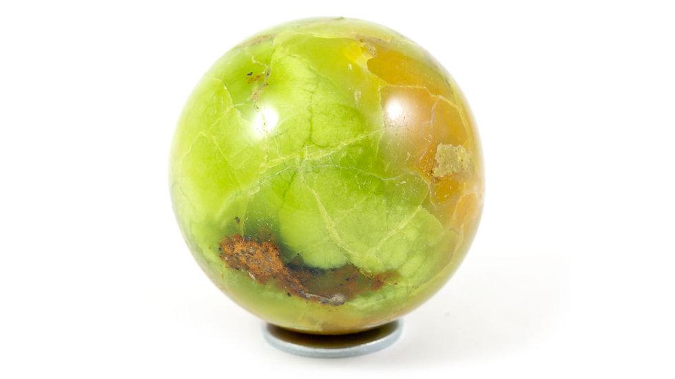Sphère Opale verte 53mm ref: SOV3