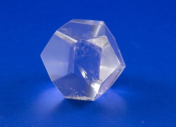Dodécaèdre Cristal de roche ref: DOD2