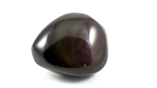 Obsidienne oeil céleste roulée ref: OPR1