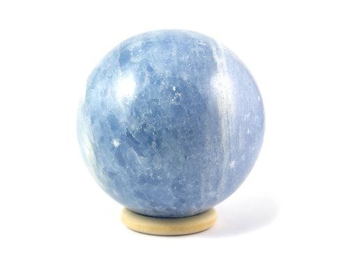 Sphère Calcite bleue 77mm