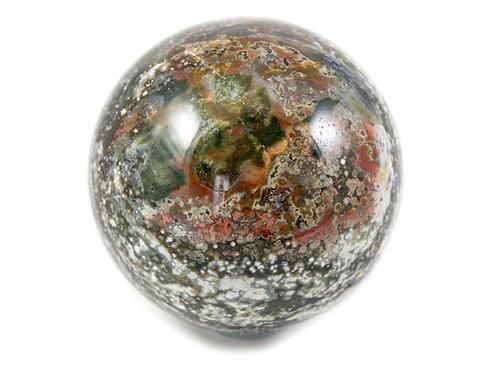 Sphère Jaspe orbiculaire 77mm