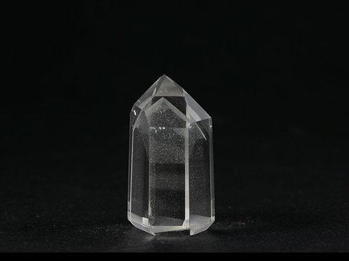 Quartz fantôme pointe polie ref: PQF4