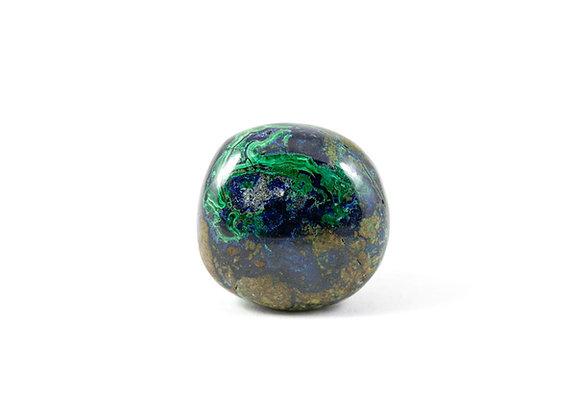 Azurite-Malachite - Pierre roulée