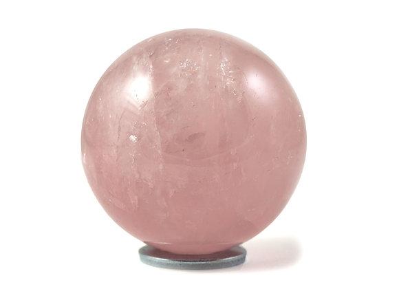 Sphère Quartz rose 50mm