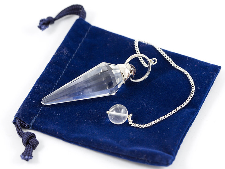 Pendule Cristal de roche ref: P2