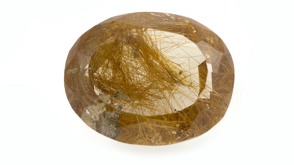Quartz rutile pierre taillée ref: Crt6