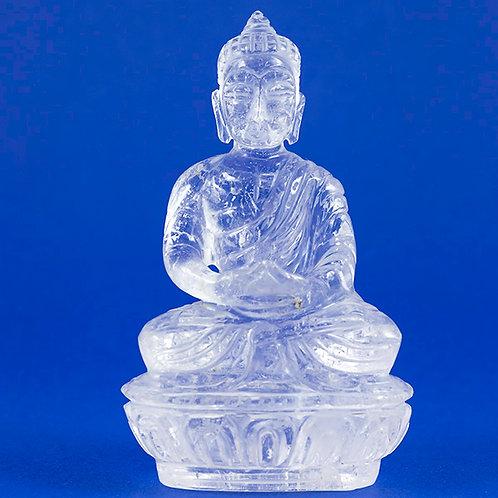 Bouddha Cristal de roche ref: BCR2