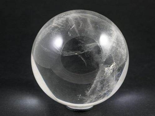 Sphère Cristal de roche 80mm