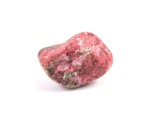 Thulite pierre roulée