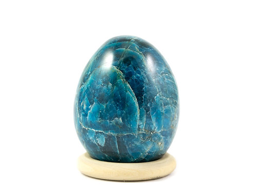Oeuf Apatite bleue