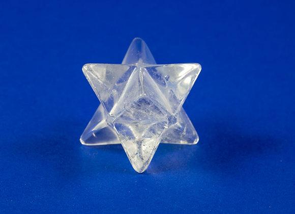 Merkaba Cristal de roche ref: MK13
