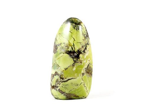 Opale verte forme libre ref: ovb5