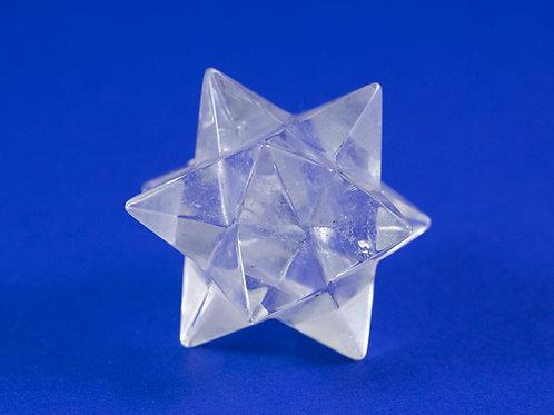 Dodécaèdre Étoilé cristal de roche ref: DE5