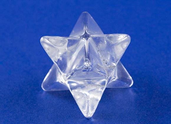 Merkaba Cristal de roche ref: MK5