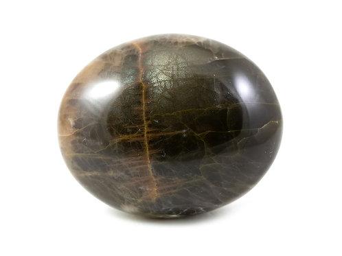 Galet - Pierre de lune noire