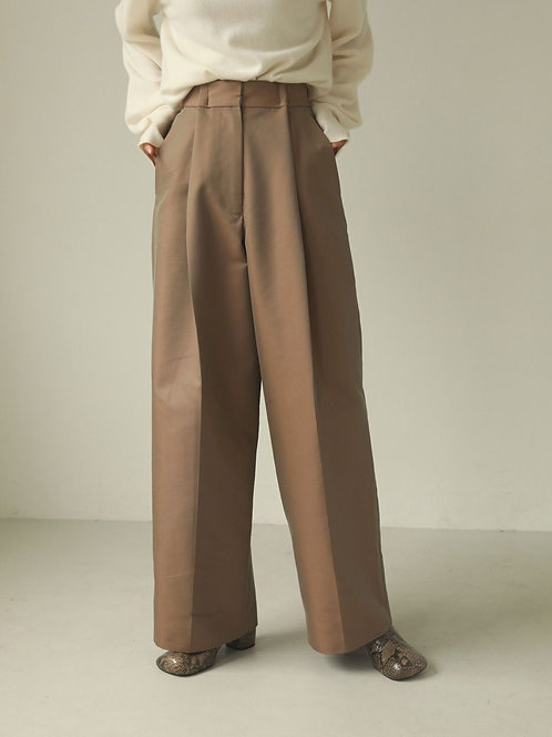 TODAYFUL / Chambray Twill Trousers