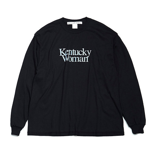 "soe/PRE_ Inside out L/S Tee ""Kentucky Woman"" collaborated PRE_"