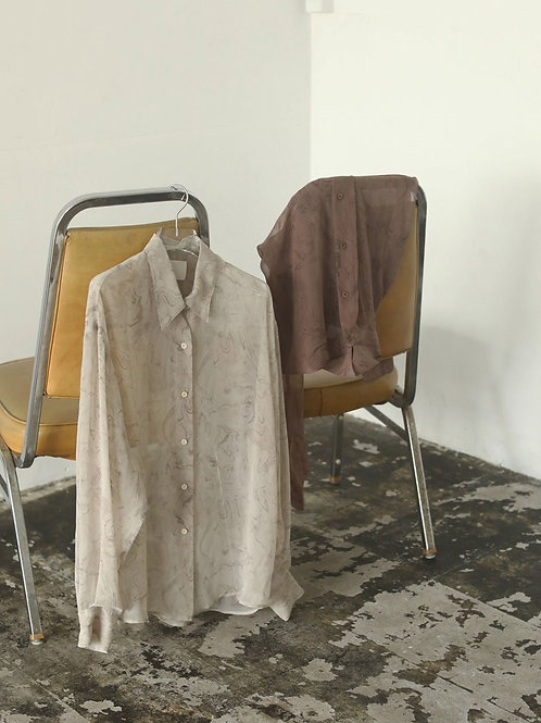 TODAYFUL / Marble Sheer Shirts