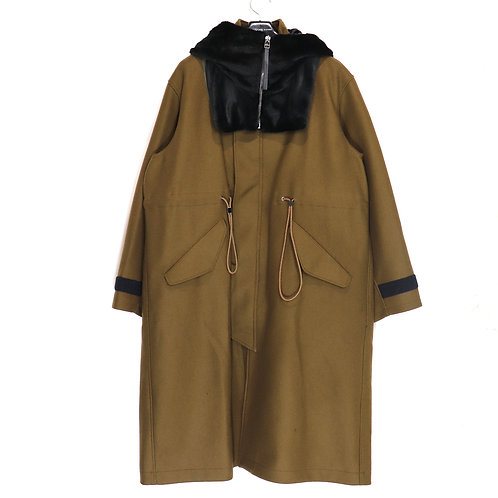 soe/Army Coat With Removable Hoodie