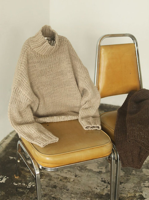 TODAYFUL / Mix Wool Knit