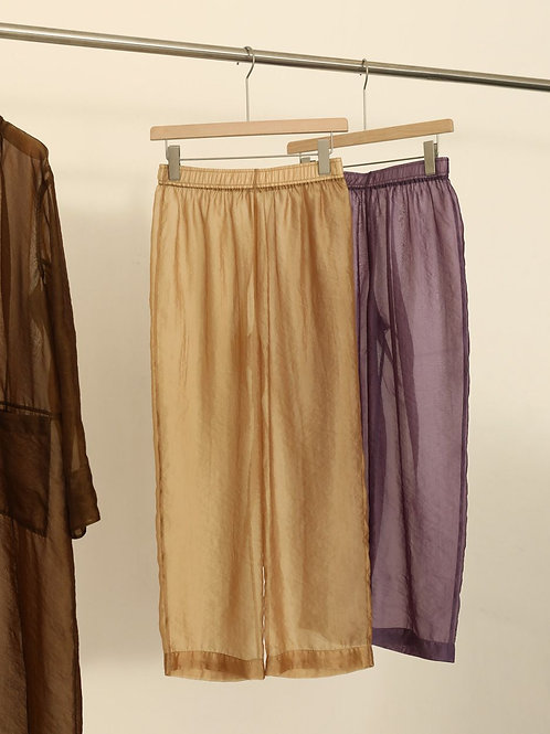 TODAYFUL/Sheer Gather Pants