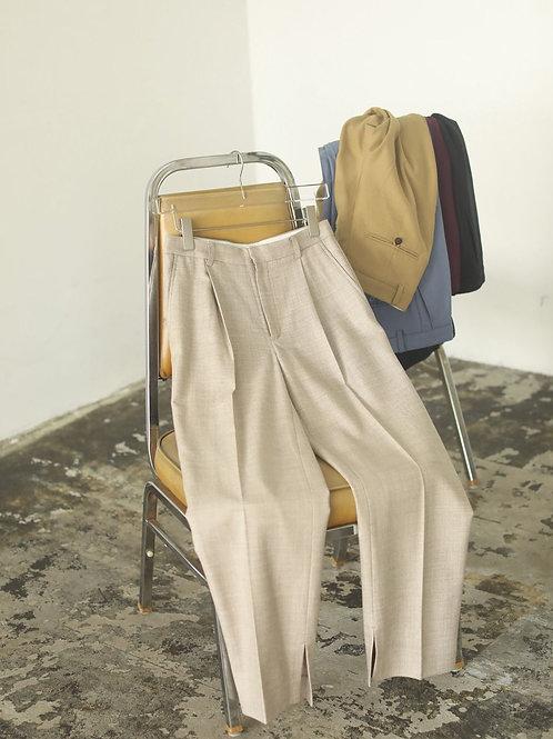 TODAYFUL / Georgette Slit Pants