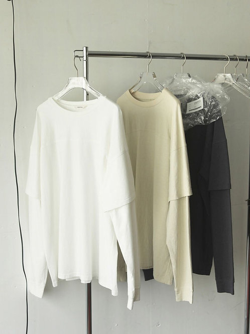 TODAYFUL / Cotton Layered Long Tshirts