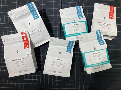 3包本月咖啡採樣器包100g x 3包福袋3包100g
