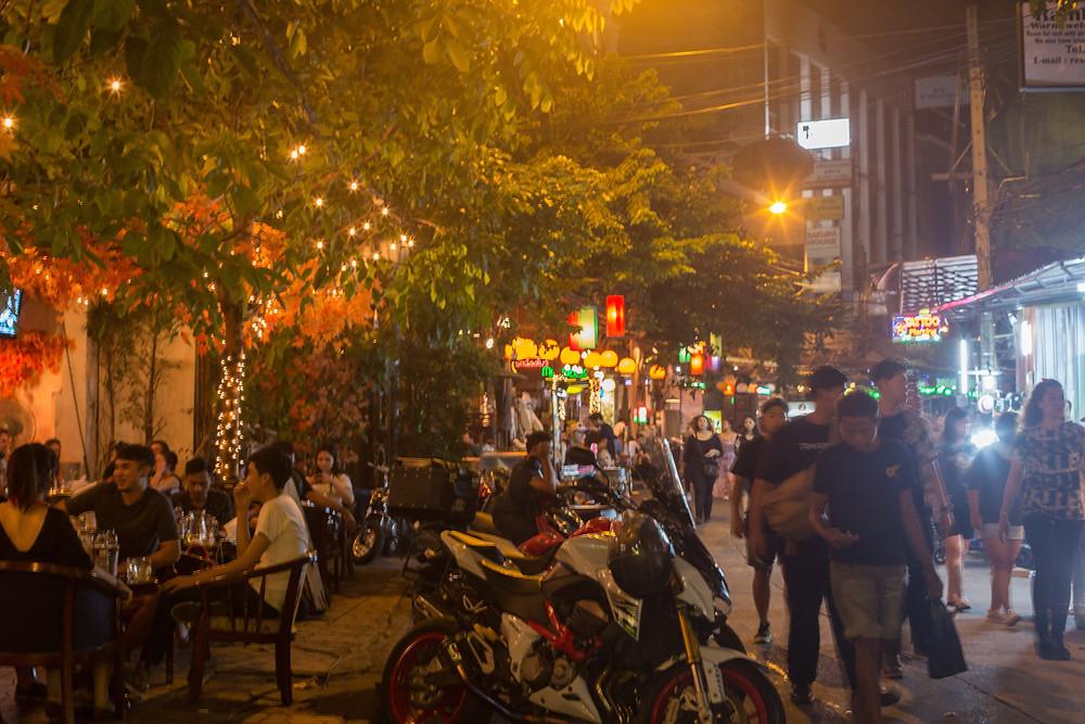 rua noite