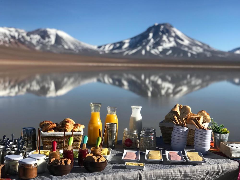 lagoa café da manhã