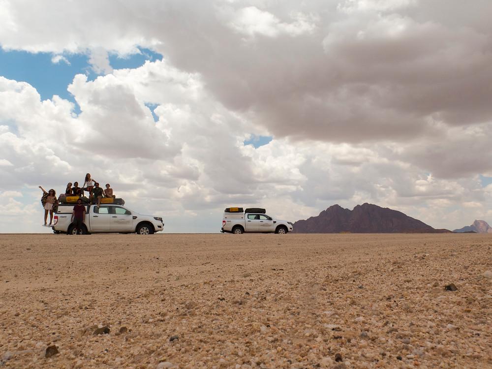 carros deserto