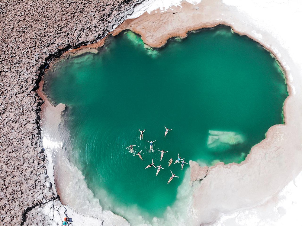 lagoa verde drone