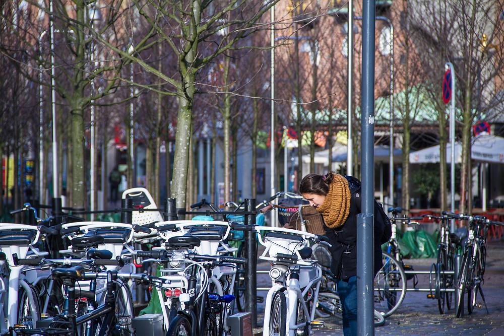 bicicletas inverno