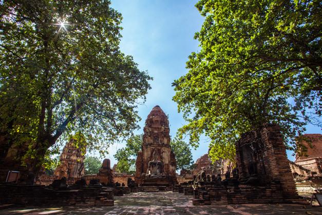 Bate volta em Ayutthaya