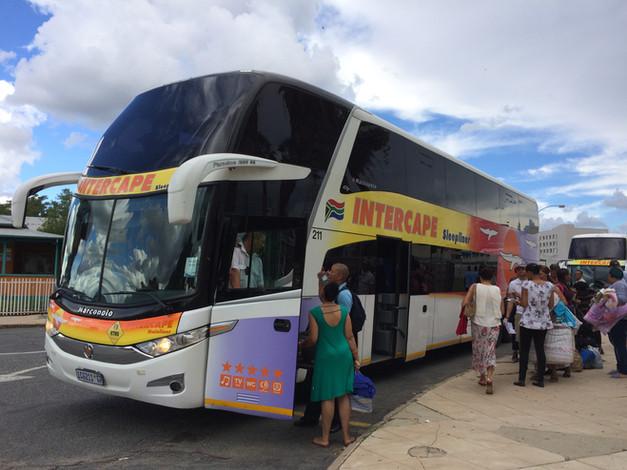 Viajando de Windhoek à Cape Town pela Intercape