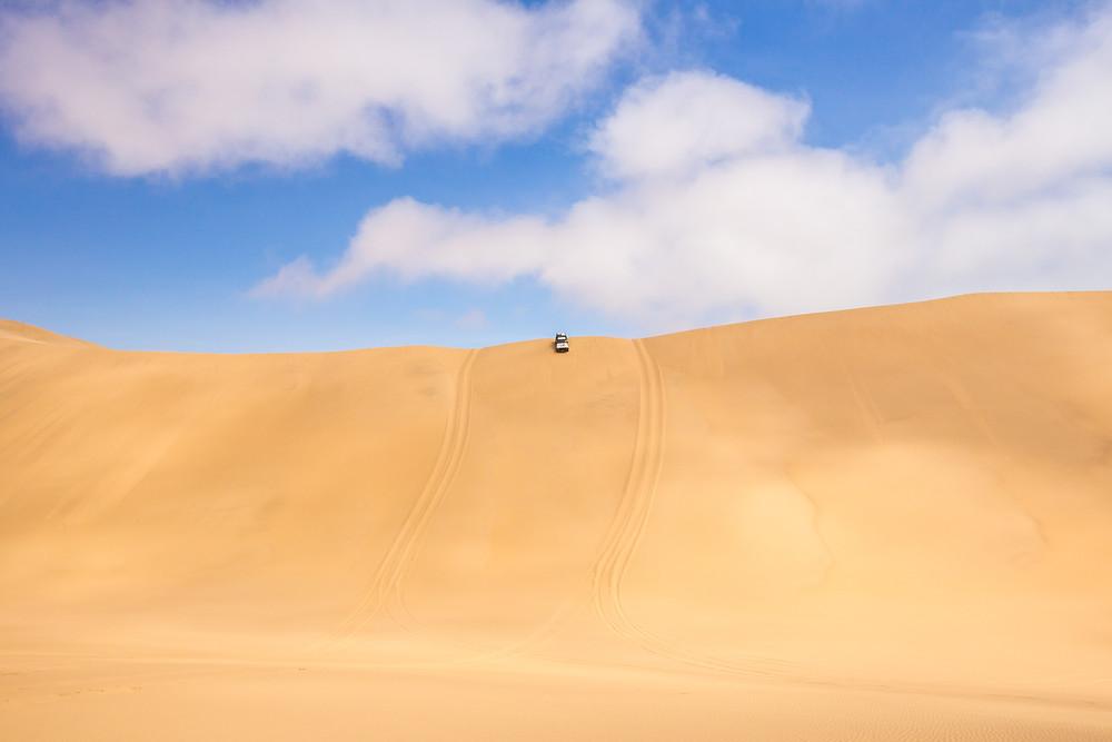 deserto carro duna