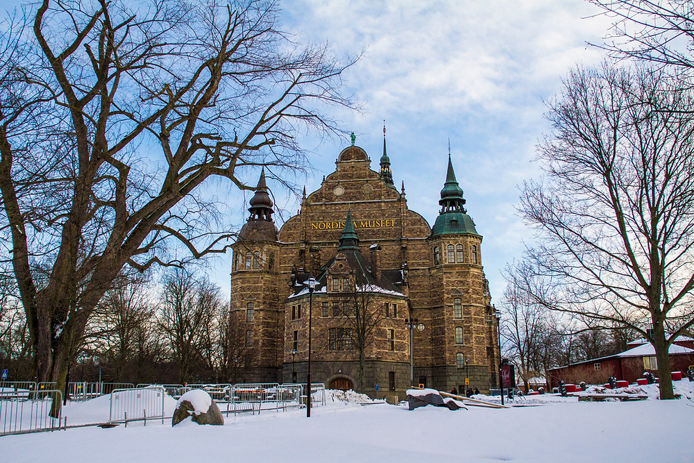 Estocolmo neve