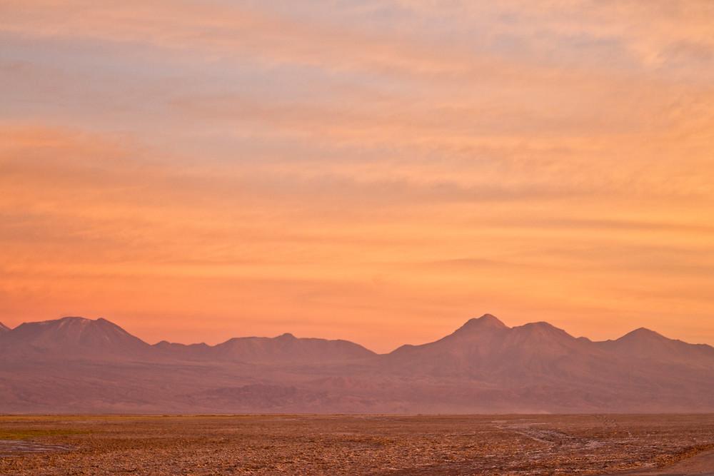 por do sol deserto