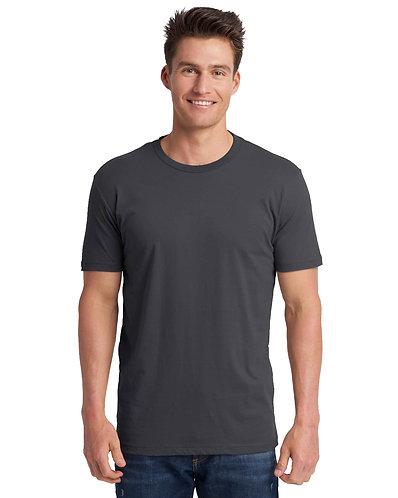 3600 Next Level Unisex Cotton T-Shirt Color HEAVY METAL