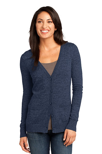 DM415 District Made® - Ladies Cardigan Sweater