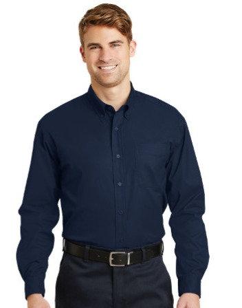 SP17 CornerStone® - Long Sleeve SuperPro™ Twill Shirt