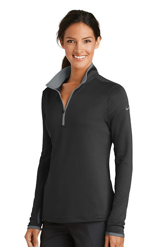 779796 Nike Ladies Dri-FIT Stretch 1/2-Zip Cover-Up