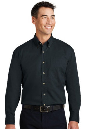 S600T Port Authority® Long Sleeve Twill Shirt