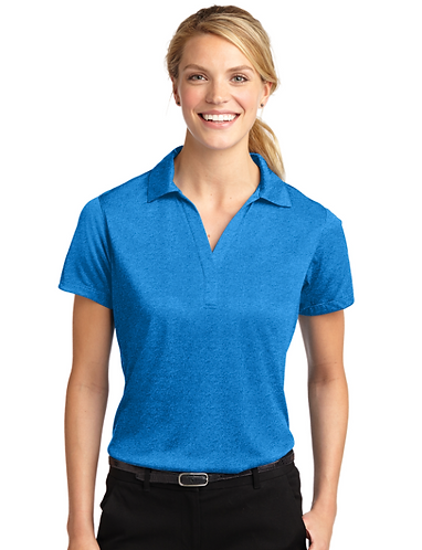 LST660 Sport-Tek® Ladies Heather Contender™ Polo