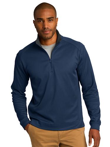 K805 Port Authority® Vertical Texture 1/4-Zip Pullover
