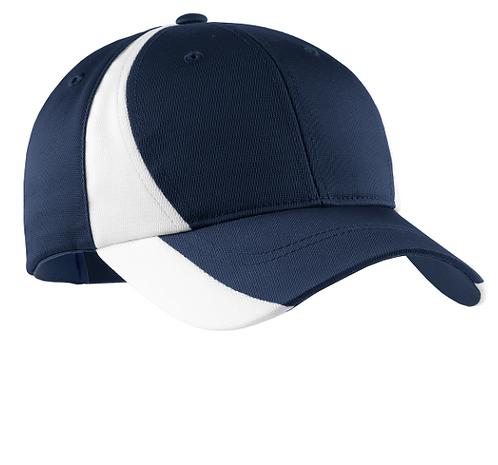 STC11 Sport-Tek® Dry Zone® Nylon Colorblock Cap