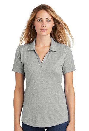 LST405 Sport-Tek ® Ladies PosiCharge ® Tri-Blend Wicking Polo