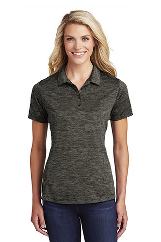 LST590NEW Sport-Tek® Ladies PosiCharge® Electric Heather Polo