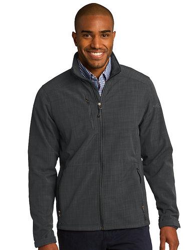 EB532 Eddie Bauer® Shaded Crosshatch Soft Shell Jacket