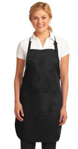 A703 Port Authority® Easy Care Full-Length Apron with Stain Release